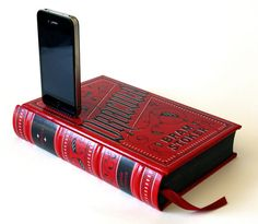 Fancy - Dracula Book iPhone Charging Dock