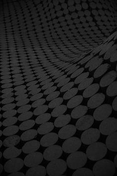 Black Polka Dots Wallpaper
