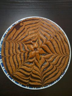 Torta zebrata yogurt e caffè - Graziella Germano
