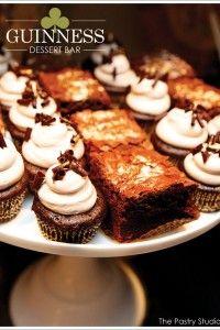 Guinness Dessert Bar for St. Patrick's Day
