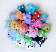 The whole collection! #Uglydoll