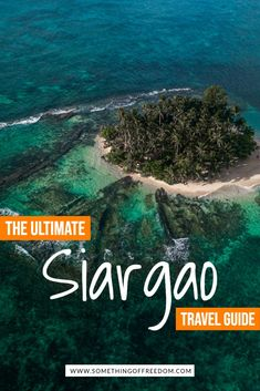 Siargao in the Philippines is an island known for its amazing beaches, photography, cloud 9 for surfing and sugba lagoon. With some amazing things to do in Siargao you don't want to miss this off your Philippines itinerary #asia #philippines #island Amazing Destinations, Travel Destinations, Philippines Travel Guide, Siargao Island, Travel Guides, Travel Tips, Adventure Travel, Adventure Awaits, Cloud 9