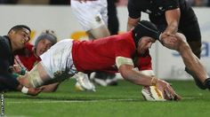 New Zealand beat British and Irish Lions 30-15 in first Test in Auckland