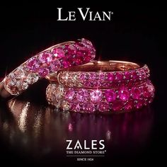 Introducing Strawberry Ombré™, the latest innovative collection by Le Vian® available exclusively at Zales.