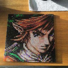 LoZ Link hama perler beads by  artbyfredd