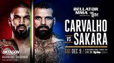 Bellator 190: Carvalho vs. Sakara – wyniki i efektowne zakończenia walk | FIGHT24.PL - MMA i K-1, UFC