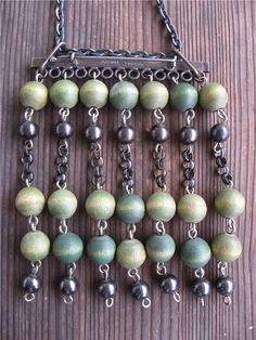 Aarikka necklace Second Hand, Gemstone Beads, Bling, Jewellery, Gemstones, Vintage, Silver, Accessories, Design