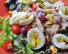Seriously Good Cobb Salad, salad recipe from Simple Start, salad recipe, salad, #SimpleStart, Weight Watchers