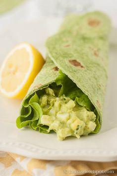 Avocado Egg Salad- SO healthy and delicious!