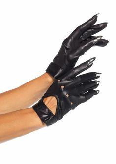 #halloween #gloves #cat #nails #accessory (available at Fairvilla)