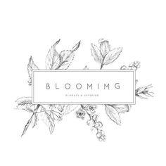 Ideas For Cleaning Logo Ideas Simple Fff Logo, Packaging Design, Branding Design, Corporate Design, Logos Vintage, Florist Logo, Donia, Design Floral, Flower Logo