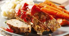 This is the BEST meatloaf recipe out there.if you want a meatloaf dinner that your whole family will love - this is the one. Not only is it insanely good, but it's easy to make too! Most Delicious Meatloaf Recipe, Meatloaf Recipe No Ketchup, Classic Meatloaf Recipe, Easy 1 Pound Meatloaf Recipe, The Best Ever Meatloaf Recipe, Venison Recipes, Meatloaf Recipes, Meat Recipes, Real Food Recipes