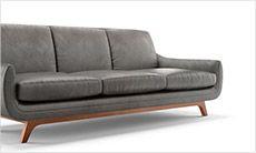 Calhoun Leather Sofa by Joybird