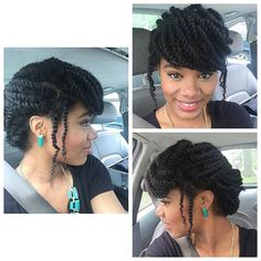 Kinky Twists Hairstyles twist black hairstyles for black women curly hairstyles for african women 2009 kinky twists hairstyle 19 Fabulous Kinky Twists Hairstyles