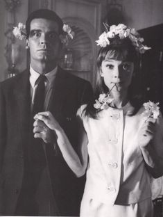 Audrey Hepburn and James Garner