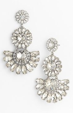Gorgeous sparkle drop earrings by kate spade new york