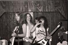 #James Hetfield #Kirk Hammett #Lars Ulrich #Cliff Burton