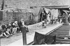 Kutno, Poland, Jews in their living quarters in the ghetto, Early 1941.