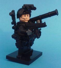 NEW CUSTOM BATMAN LEGO NAVY SEAL WEAPONS SNIPER SOLDIER  ARMY LEGO BRICK WARS #LEG0