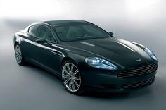 Aston Martin Rapide, vista frontal