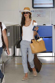 Alessandra Ambrosio Nice Airport May 23 2014