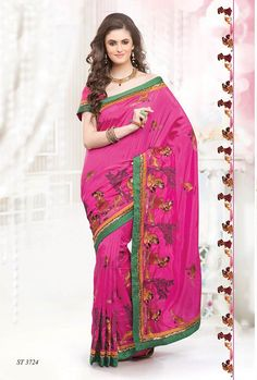 Our company is counted as a prominent manufacturer, exporter and supplier of export quality range of Designer Sarees which are globally demanded and appreciated for its exclusive designs, fabulous fabric and enchanting color combinations.