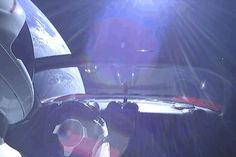 Ride along with the dummy driving Elon Musk's Tesla to Mars Elon Musk Tesla, Falcon Heavy, Fantastic Voyage, Tesla Roadster, Ride Along, Urban, Space, Radio Frequency, Pancake