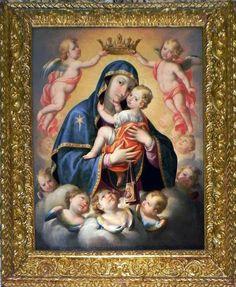 Anonimo - Madonna del Carmine - XVIII-XIX sec. - Chiesa del Carmine, Andria