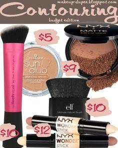 Makeup dupes: Contouring on a budget