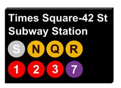 Subway Signs, Fantastic Quotes, Nyc Subway, How I Met Your Mother, Room Themes, Rooms, Canvas, Shop, Etsy
