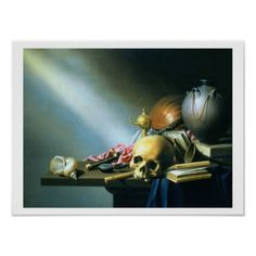 Still Life: An Allegory of the Vanities of Human L Poster