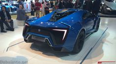 Blue Lykan Hypersport at Dubai 2013 Expensive Sports Cars, Lykan Hypersport, Motor Works, Supersport, Bugatti, Cars And Motorcycles, Luxury Cars, Motors, Dream Cars