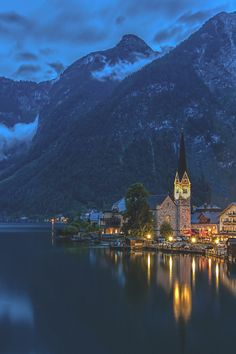 Hallstatt - The Pearl of Austria - by: Jiti Chadha  (via alpenstrasse)