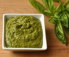 A delicious fresh pesto recipe using some unique superfoods instead of the usual parmesean cheese and pine nuts!