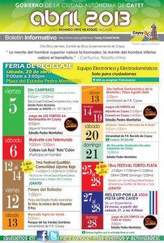 Ciudad Autónoma de Cayey: Abril 2013
