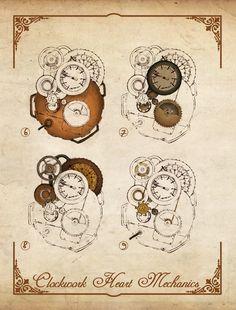 clockwork heart Korat, Hp Spectre, I Need You, For Stars, Fairy Tales, Vintage World Maps, Lily, Romantic, Book
