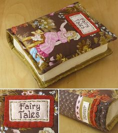 Book Pillows (15x20x5cm)   PatchworkPottery via Flickr