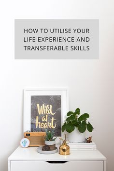 How you can utilise your life experience and transferable skills to build confidence and support your personal and professional development. Personal And Professional Development, Personal Development, Find Your Calling, Confidence Building, Your Life, Creative Business, Coaching, Finding Yourself, About Me Blog