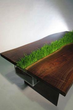 グリーンなテーブル
