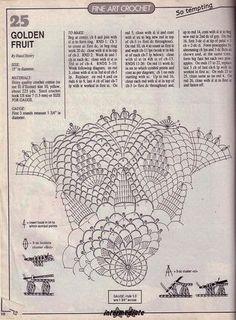 Kira scheme crochet: Scheme crochet no. 911