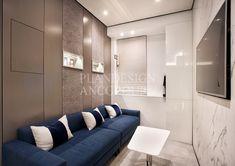 플랜디자인 Reception Desk Design, Sofa, Couch, Layout, Showroom, Interior Design, Commercial, Furniture, Home Decor