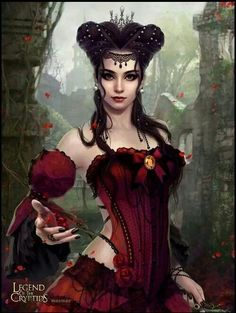 """Legend of the Cryptids card """"Spiteful Madame Thenardier"""" by Maomao22"""