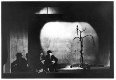 Samuel Beckett's Waiting for Godot directed by Roger Blin, 1952