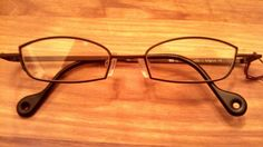 2884bdb5f9 Theo Eyeglass Frames Authentic schaeffer 98 Burned Shadow Matte  theo  Consignment Shops