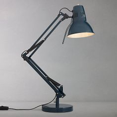 Buy John Lewis Elliot Task Lamp Petrol blue £65