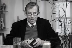 Václav Havel -  playwright, essayist, poet, dissident and politician: first president of the Czech Republic