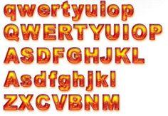 Orange n yellow letters