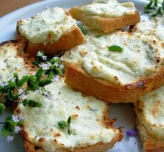 """Mascarpone Crostinis: """"This is a wonderful appetizer, and one that I will be making many times over."""" -Bobbie"""