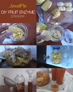 Pineapple Fruit Enzyme...Read First...Good Place to Start