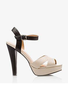 Colorblocked Platform Sandals | FOREVER21 - 2027620233